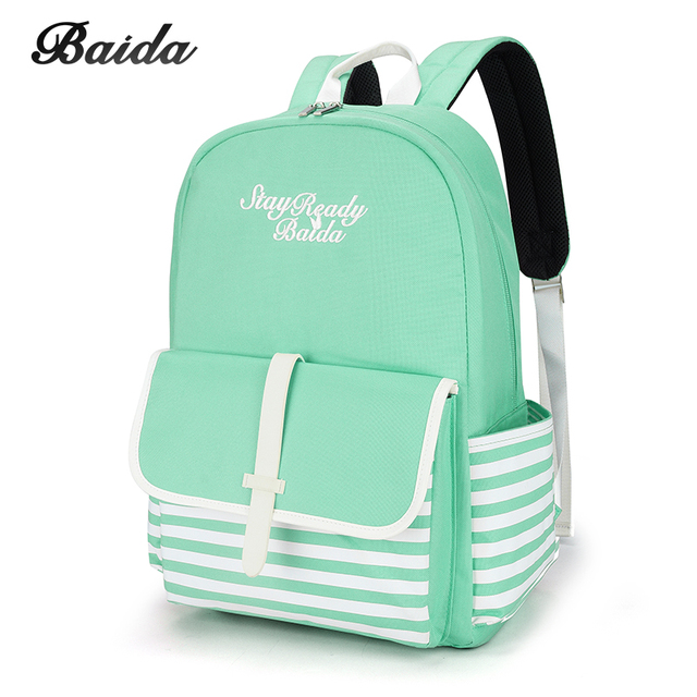 Fashion School Backpacks for Teenage Girls Canvas Women Laptop Back Pack  Female Cute Japan and Korean Style Backpack Travel Bags 3abb4292914c1