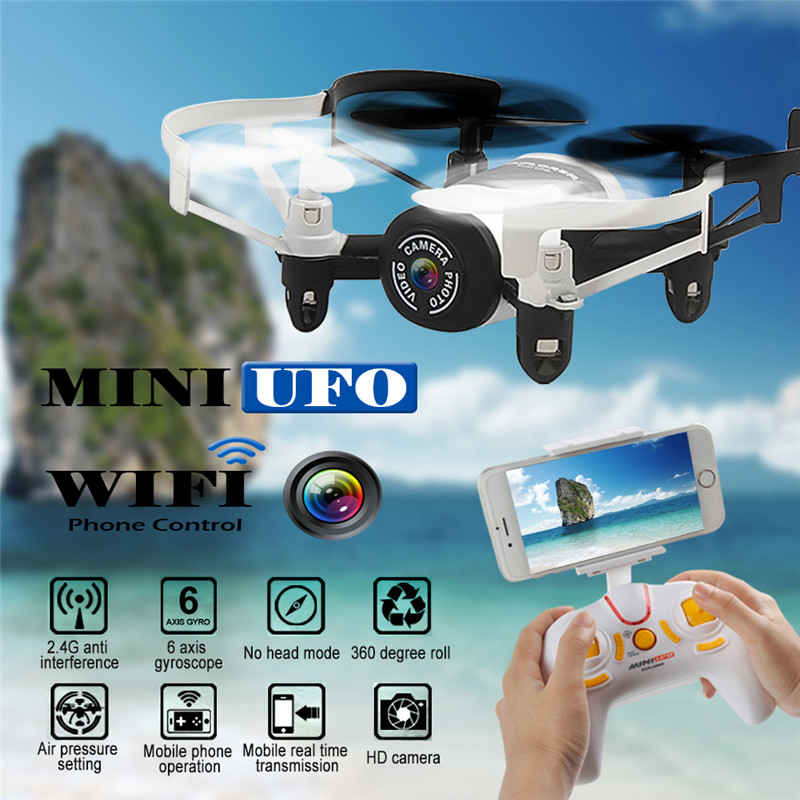 JXD 512DW WIFI real time transmit rc drone 2.4G 6-axis 4CH set Altitude helicopter with HD Camera WiFi FPV Gyro RC Quadcopter