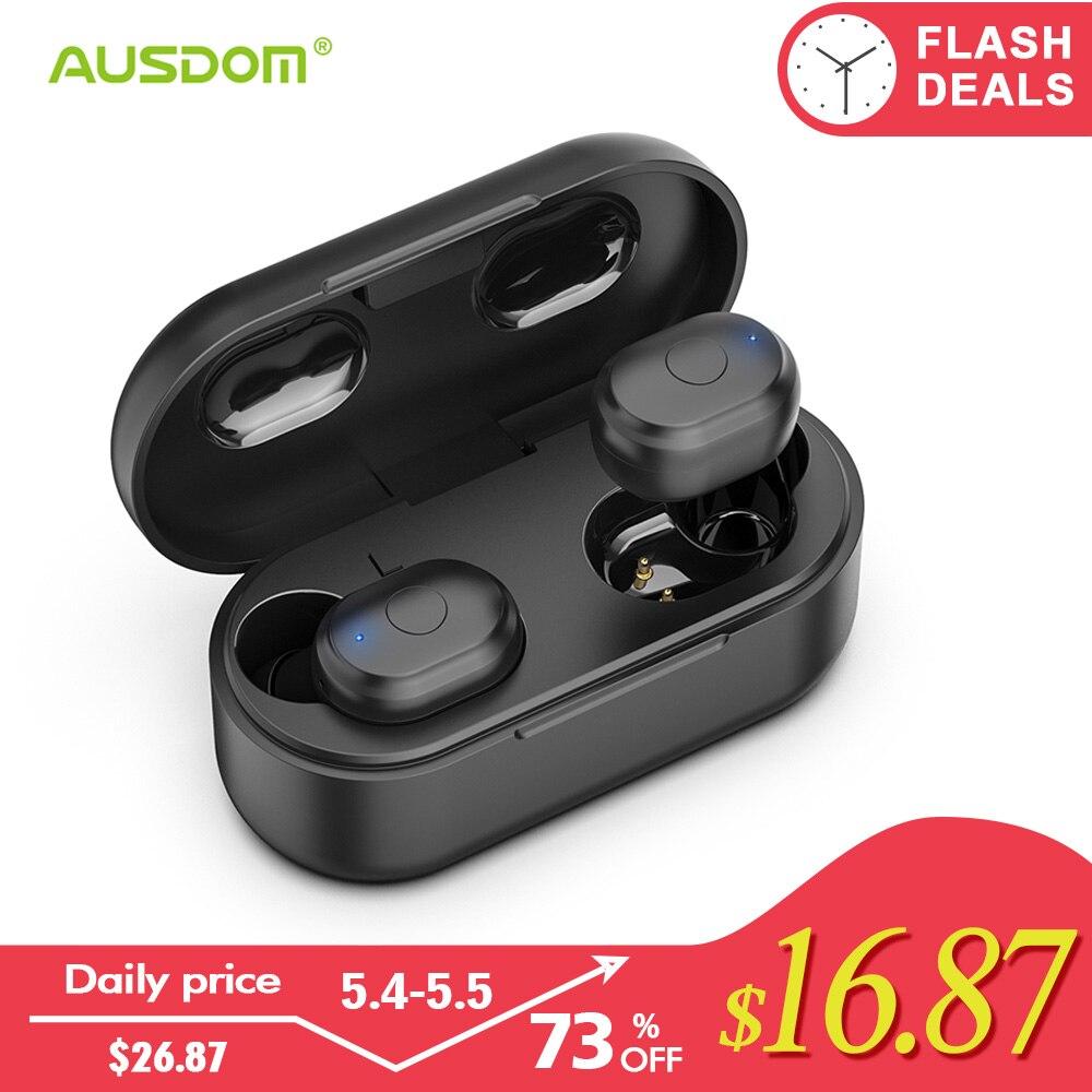 Achat Ausdom Tw01 Tws Bluetooth écouteur 18 H Temps De Jeu Casque