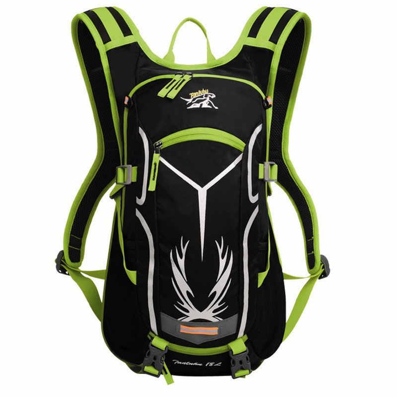 18L Olahraga Reflektif Ransel untuk Wanita Pria Tahan Air Sepeda Gunung Tas Sepeda Luar Menjalankan Bersepeda Hiking Rucksack XA255WD