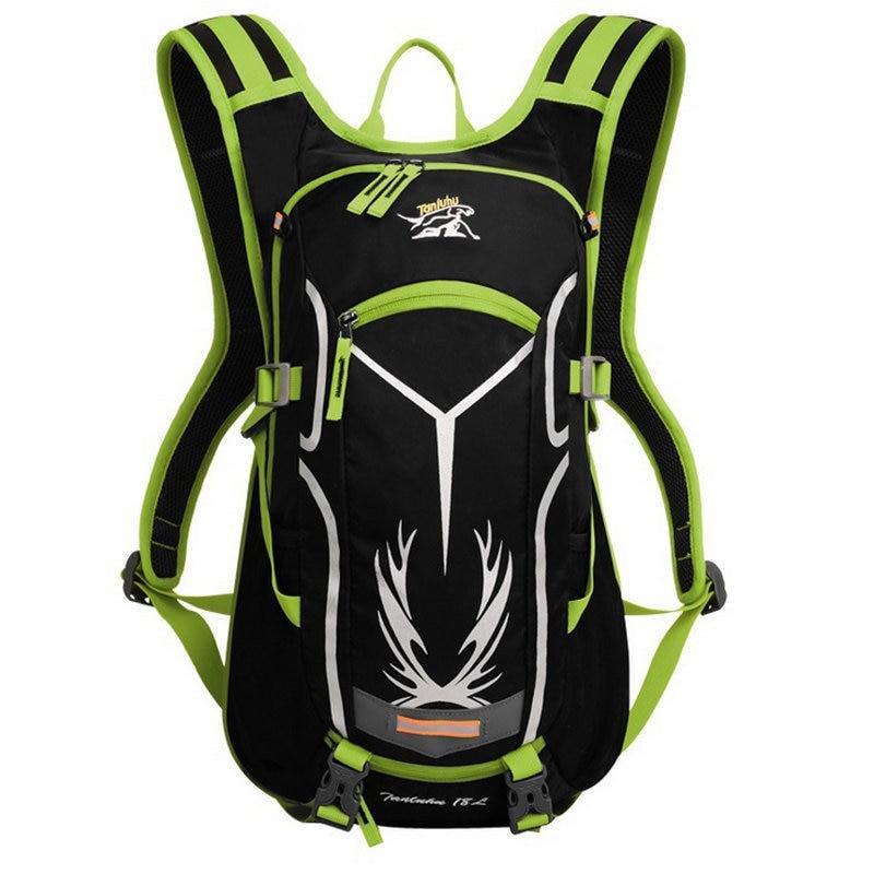 18L Sport Reflective Backpack for Bicycle Women Men Waterproof Mountain Bike Bag Outdoor Running Cycling Hiking Rucksack XA255WD