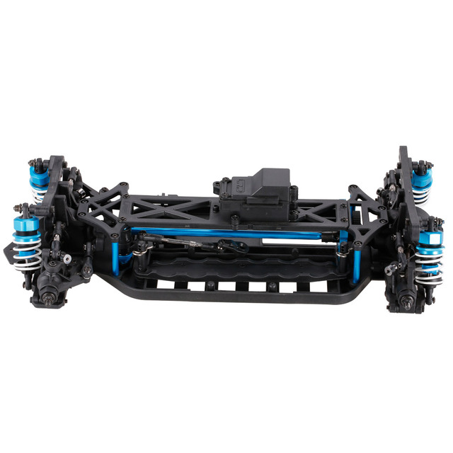 1/10 4WD Electric On Road Drift Racing Car Frame Kit Chassis Combo ...
