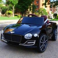 Платные Роскошные поездка на свежем воздухе на автомобиль для детского электромобиля четыре колеса автомобиля Дистанционное управление и