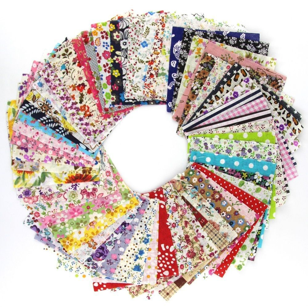 60 pieces lot 10cmx10cm charming pack diy tecido quilting for Sewing material for sale