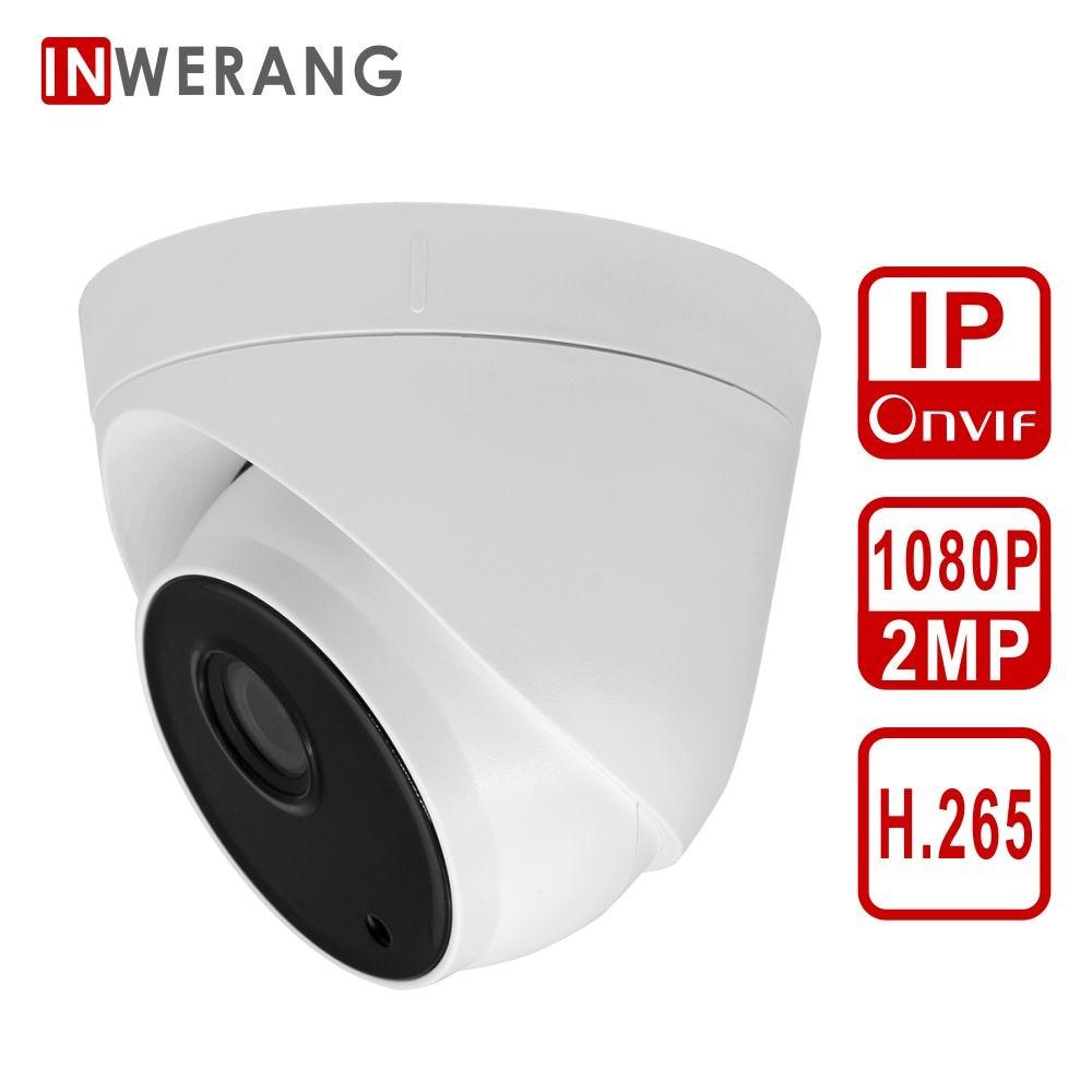 Inwerang HD 2.0MP indoor 1080P H.265 IP Camera, IR CUT Night Vision 3.6mm P2P CCTV security camera support ONVIF web page