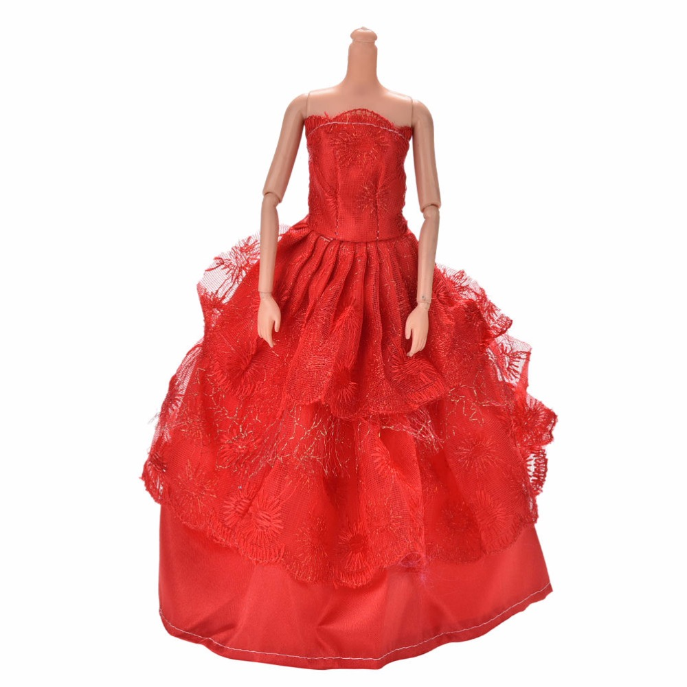 Handmade Elegant Doll Dress for FR Doll Party Dress Clothes S!