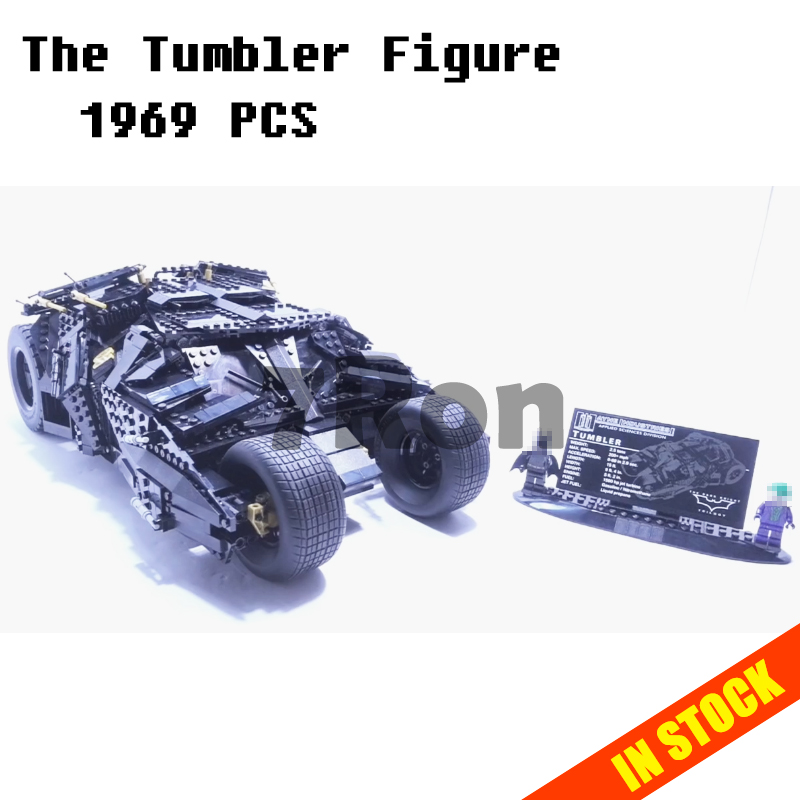 Models building toy 07060 The Tumbler Figure Building Blocks Compatible with lego super heroes 76023 toys & hobbie Children Gift single sale chromed infinity gauntlet with 24pcs power stones vision super heroes building blocks children gift toys sy1099 2