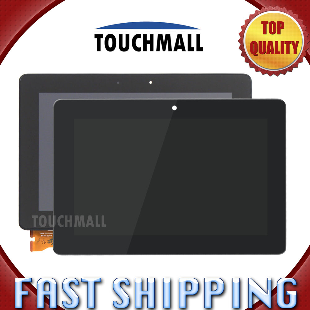 For Asus Memo Pad Smart ME301 ME301T K001 Replacement LCD Display Touch Screen with Frame Assembly 10.1-inch For Tablet