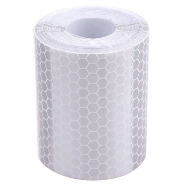 5cm*3m Safety Mark Reflective Tape Stickers Car-styling Self Adhesive Warning Tape Automobiles Motorcycle Reflective Film 1