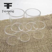 Furuipeng أنابيب ل SMOK مايكرو TFV4 5 مللي استبدال بيركس أنبوب زجاجي PK من 5 قطعة
