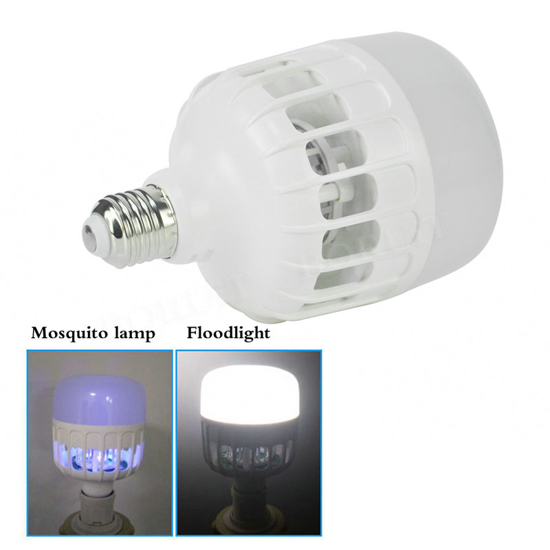 Mosquito Killer LED Light Bulb 220V 20W LED Bug Zapper Lamp Insect Mosquito Repeller Night Lighting Bedroom Night Lights e27 15w 2u uv curing light sterilization disinfection mosquito killer light bulb 220v