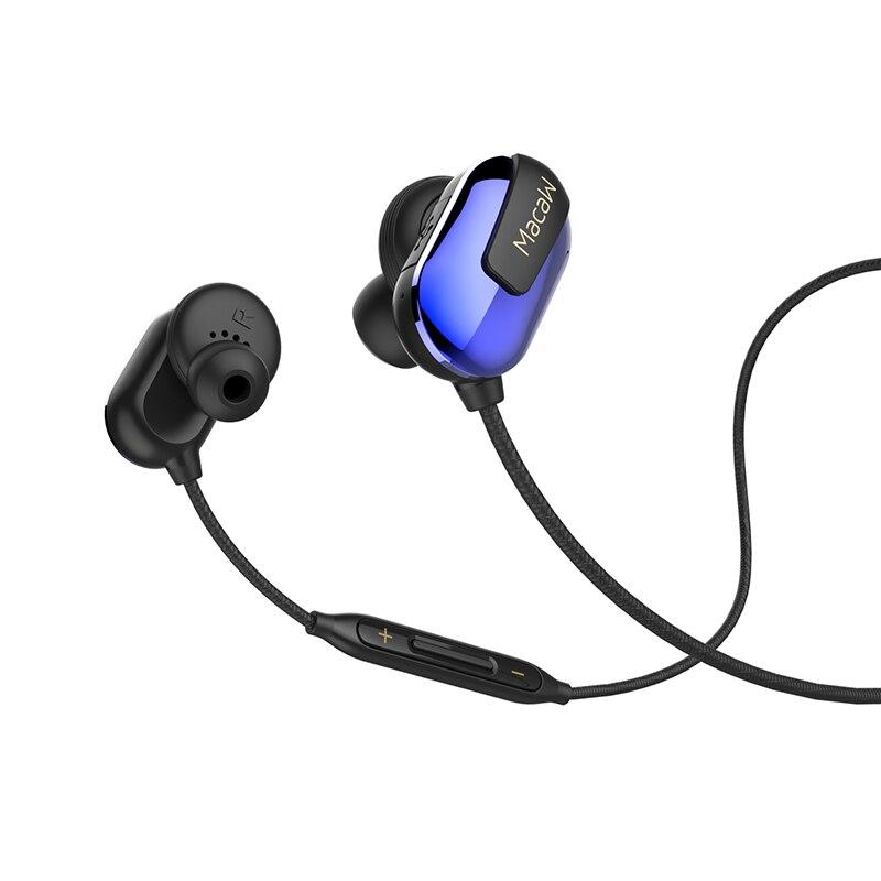 Macaw T50 Bluetooth IPX5 Anti-Sweat Headset Bluetooth 4.1 Wireless Music Movement Runner Jogging Sports Hifi In-Ear Earphone mi 313 migix movement music купить дешево в китае