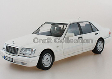 * 1:18 Car Model Old Benz S600 W140 Sedan Diecast Model Car Luxury Gifts Rare Miniature Hot Selling