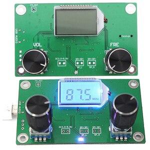 Image 2 - 1Pc 87 108 Dsp & PLL 液晶ステレオデジタル FM ラジオ受信機モジュール + シリアル制御