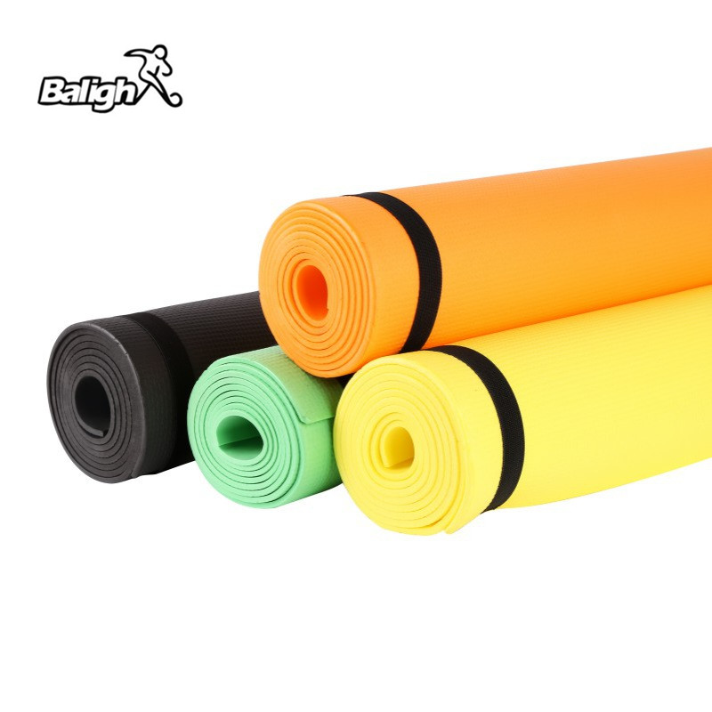 Balight Yoga Mat  4MM Foldable Exercise Yoga Mat Non-slip Thick Pad Fitness Pilates Mat for fitness Lose Weight Sling Carrier 5
