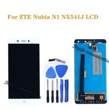 """5.5 """"dla ZTE Nubia N1 NX541J wyświetlacz LCD + ekran dotykowy digitizer komponentów dla Nubia n1 NX541J monitor LCD naprawa części + narzędzia"""