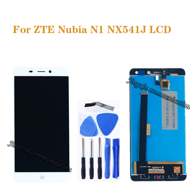 "5.5"" for ZTE Nubia N1 NX541J LCD display + touch screen digitizer components for Nubia n1 NX541J LCD monitor repair parts+tools-in Mobile Phone LCD Screens from Cellphones & Telecommunications"