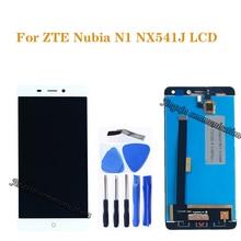 """5,5 """"para ZTE Nubia N1 NX541J pantalla LCD + digitalizador de pantalla táctil componentes para Nubia n1 NX541J LCD monitor piezas de reparación + herramientas"""