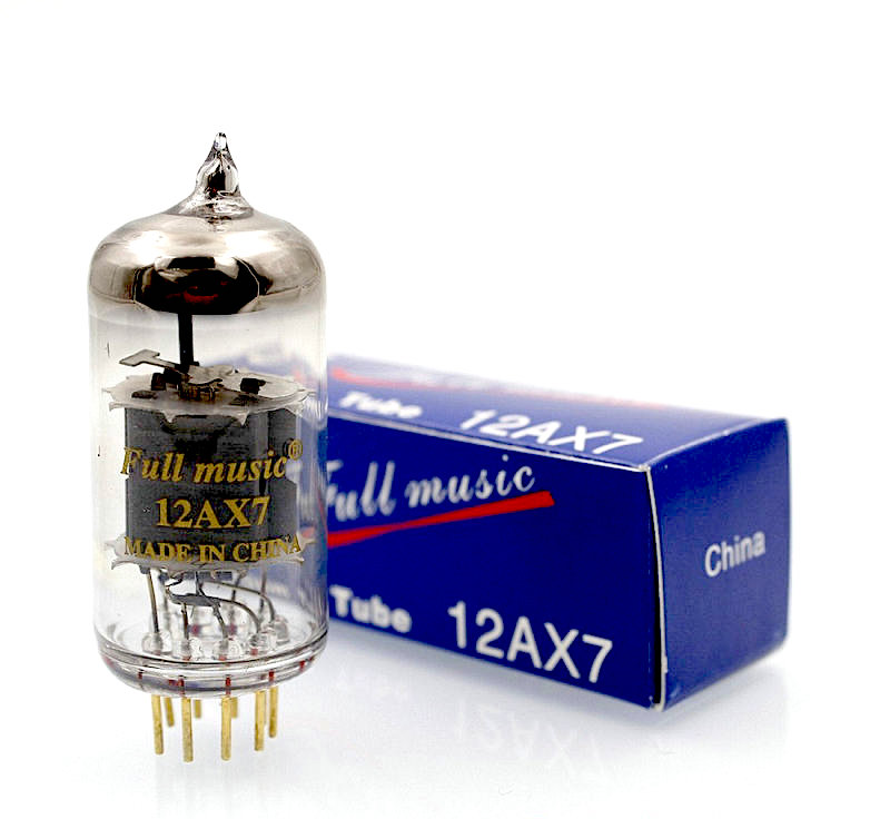 Tianjin Full Music 12AX7 Vacuum Tube HIFI EXQUIS Factory Full Matched Lamp цены онлайн