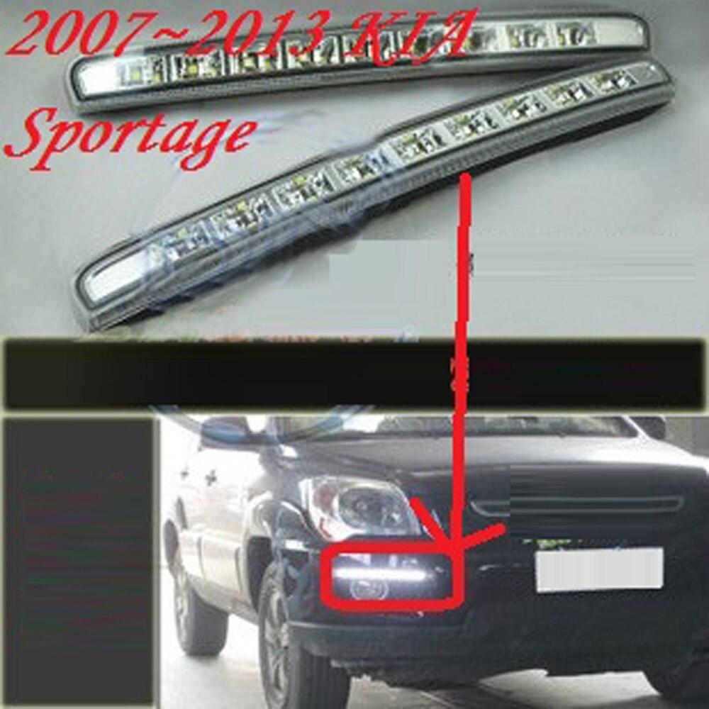 kia sportage emblem prices net 2007~2013 kia sportage daytime light led kia sportage fog light 2pcs