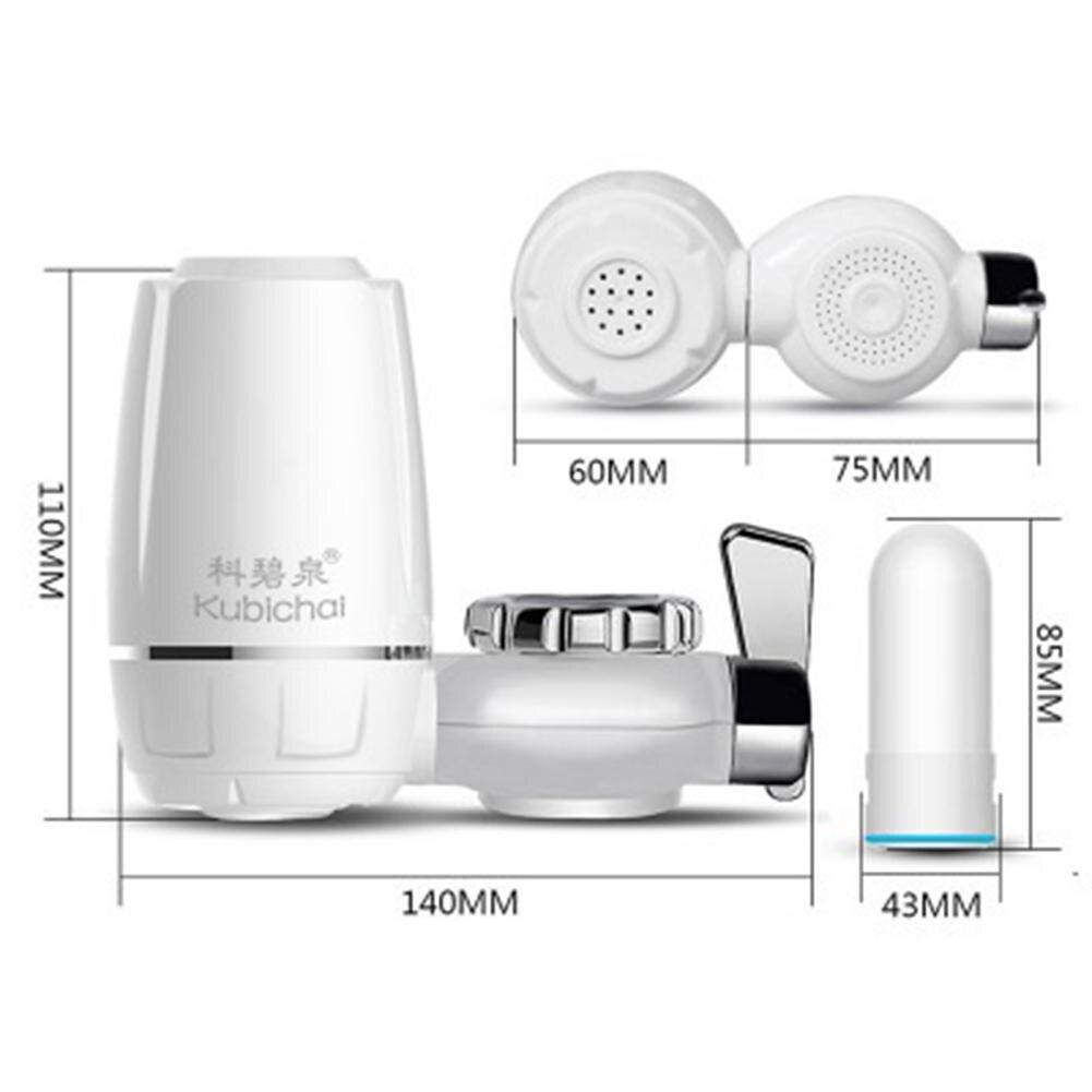 Изысканный Водоочиститель кран фильтр для воды с керамическим фильтром кухонный элемент кухонные принадлежности фильтрующий элемент