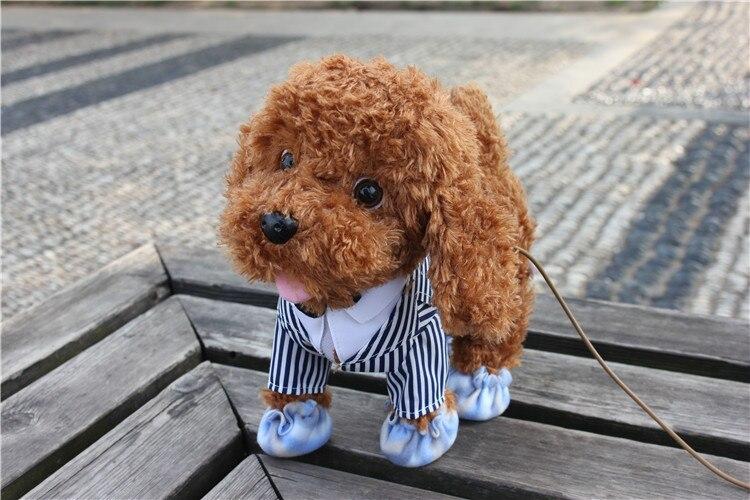 do cão casca carrinho caminhada peluche cães brinquedos plsuh cão