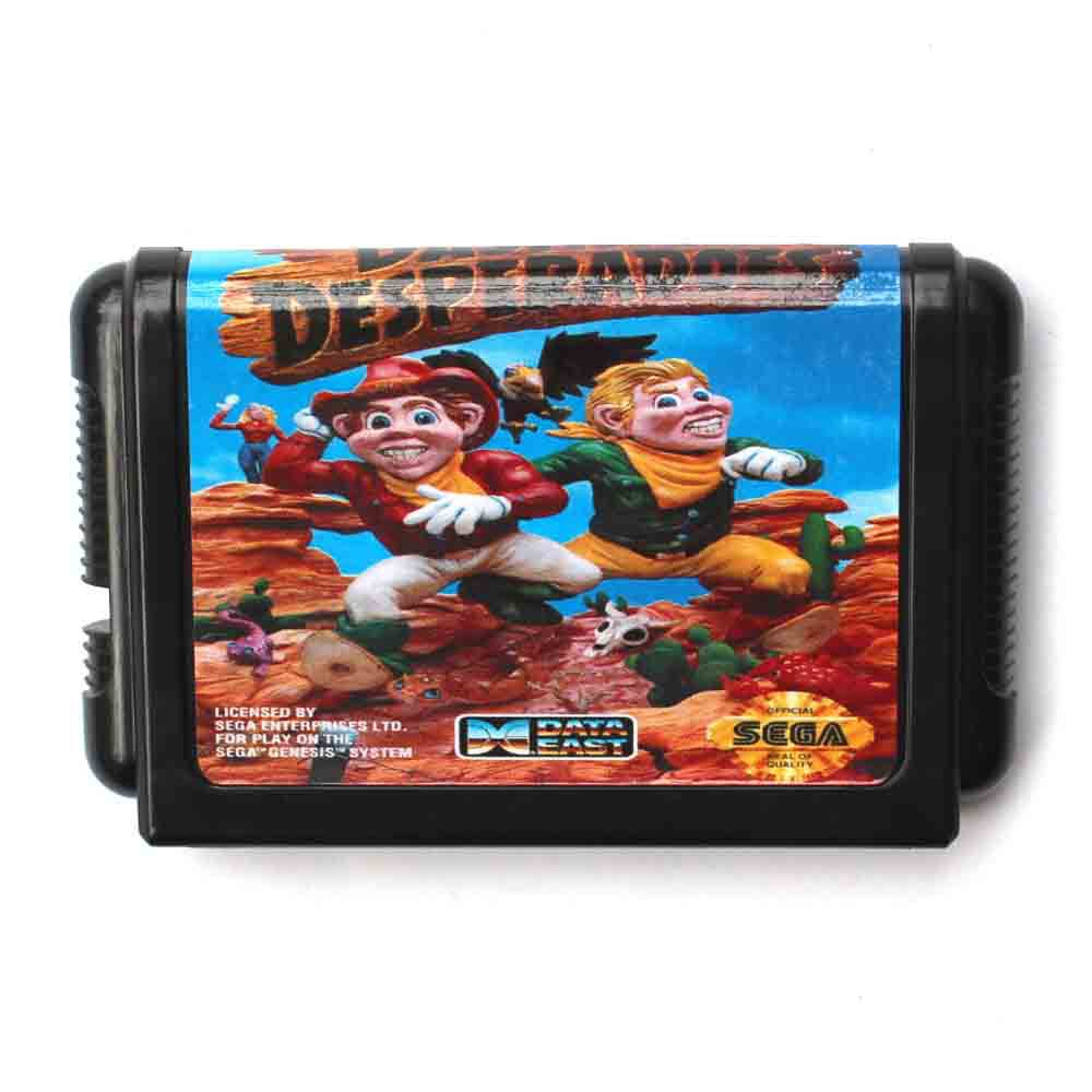 Dashin Desperadoes 16 bit MD Game Card For Sega Mega Drive For Genesis