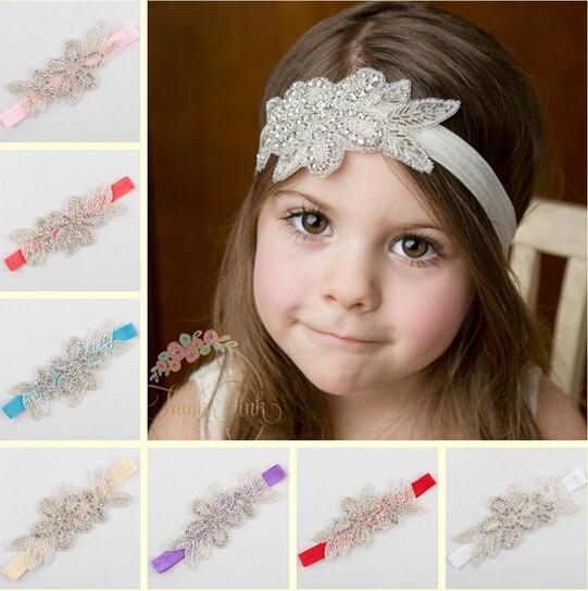 10 pcs/lot , Stunning headband Rhinestone Beaded - Apparel Accessories