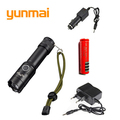 High Power 3800LM xml T6 Rechargeable Led Flashlight Portable Tactical Flashlight Waterproof Lanterna Tatica Torch 3xAAA/18650