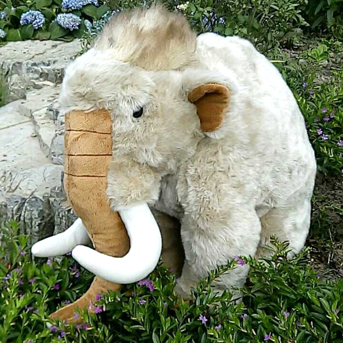 Super Big Toy Mammoth Doll Plush Toys Gifts   Simulation Animal Dolls Cute Children Gift Pillow big toy owl plush doll children s toys simulation stuffed animal gift 28cm
