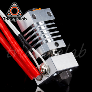 Image 3 - Trianglelab Swiss CR10 hotend Precision aluminum radiator Titanium BREAK 3D print J head Hotend for ender3 cr10 etc.