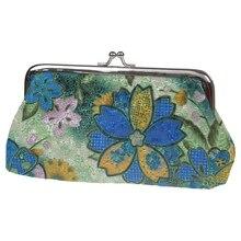 Frauen / Mädchen Geldbörse Blume Tasche Geldbörse Geldbeutel