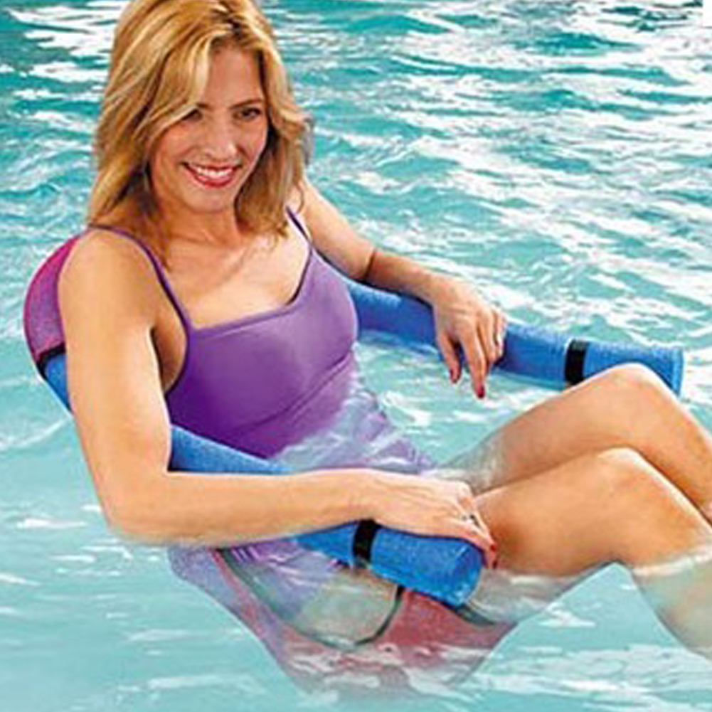 1Pc noodle pool floating chair 6.5x150cm Swimming Pool Seats multi ...