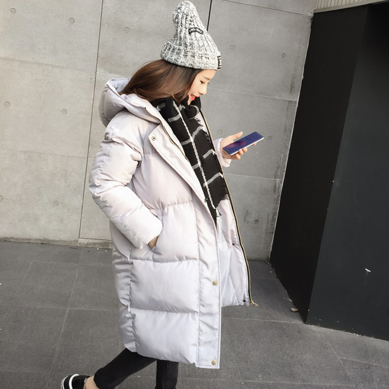 YAGENZ Cotton dress 2017 winter new Korean version of the loose was thick and thick bread clothes student jacket cotton tide yagenz 2017 new soft sister winter coat korean version of the long paragraph down jacket cotton winter thick loose cotton