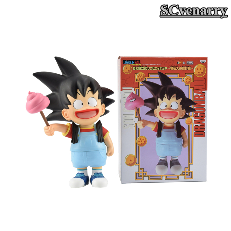 Dragon Ball Z Son Goku Dr.Slump Arale Cosplay Funny Figure Collectible Model Toy