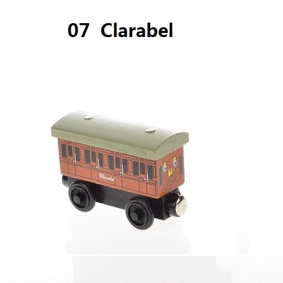 Деревянные магнитные паровозики, игрушки для железной дороги, деревянные паровозики для детей, подарок для детей, модель поезда - Цвет: Флуоресцентный желтый