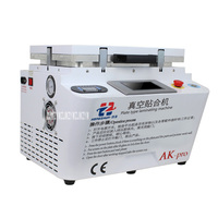 New Hot Plate type laminating machine OCA laminating machine AK pro the upper and lower plate heating Vacuum laminating machine|machine machine|machine vacuum|machine laminator -