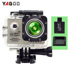 YAGOO5 Action Camera waterproof  Full HD 1080P 30FPS WIFI 12MP 2.0″LCD 170D  Helmet  Sport camera Video  cam