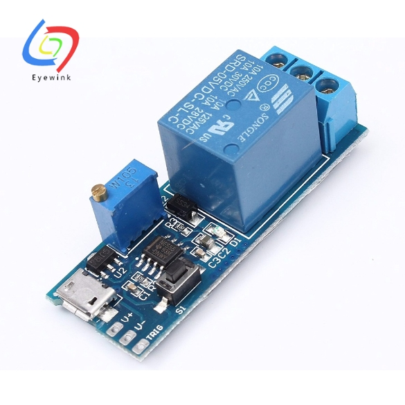 5V 4-CH USB Relay Expansion Board Module with Diode Freewheel Protection