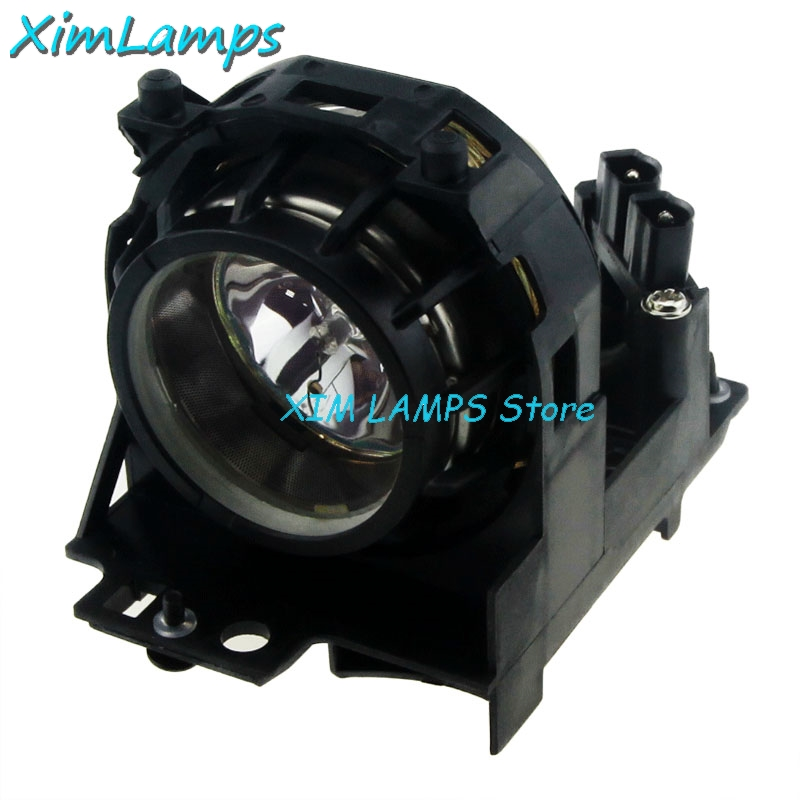 Replacement Projector Lamp DT00581 with Housing for HITACHI CP-S210 CP-S210F CP-S210T CP-S210W PJ-LC5 PJ-LC5W high quality dt00581 replacement lamp for hitachi cp s210 s210f s210t s210w pj lc5 lc5w projector bulb happybate