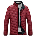 Thin Winter Duck Down Jacket Men Jacket Down Coat New Brand Slim Mens Parka Jackets and Coats Casual Overcoat Stand Collar 3XL