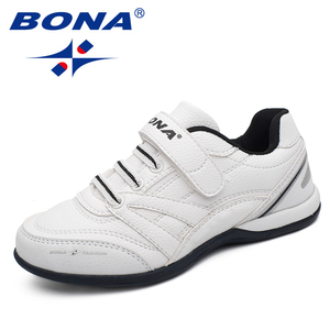 Image 4 - BONA החדש קלאסיקות סגנון ילדי נעליים יומיומיות וו & לולאה בני נעליים חיצוני הליכה Jooging סניקרס נוח משלוח חינם