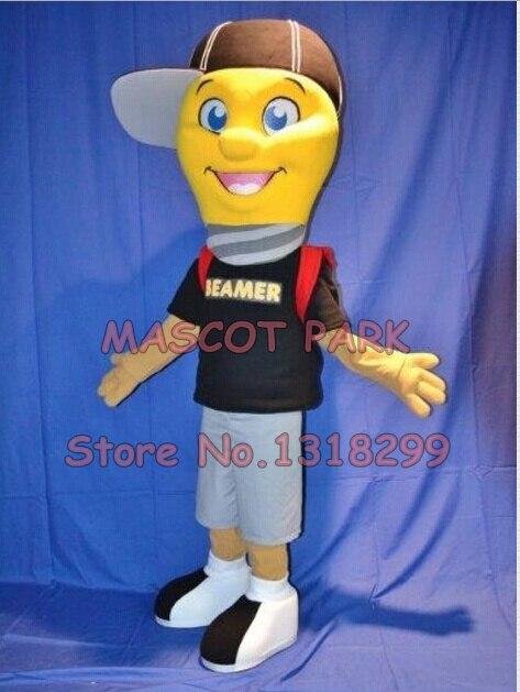 Талисман света лампа мальчик костюм талисмана взрослых размер настраиваемые мультфильм аниме костюмы карнавал необычные платья комплекты