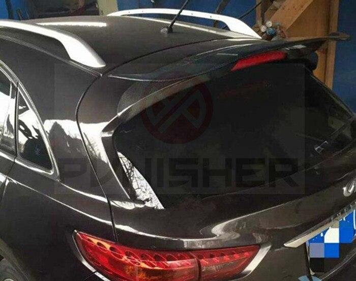 Carbon Fiber Rear Spoiler For Infiniti FX35 FX37 S51 Year 2011 2013
