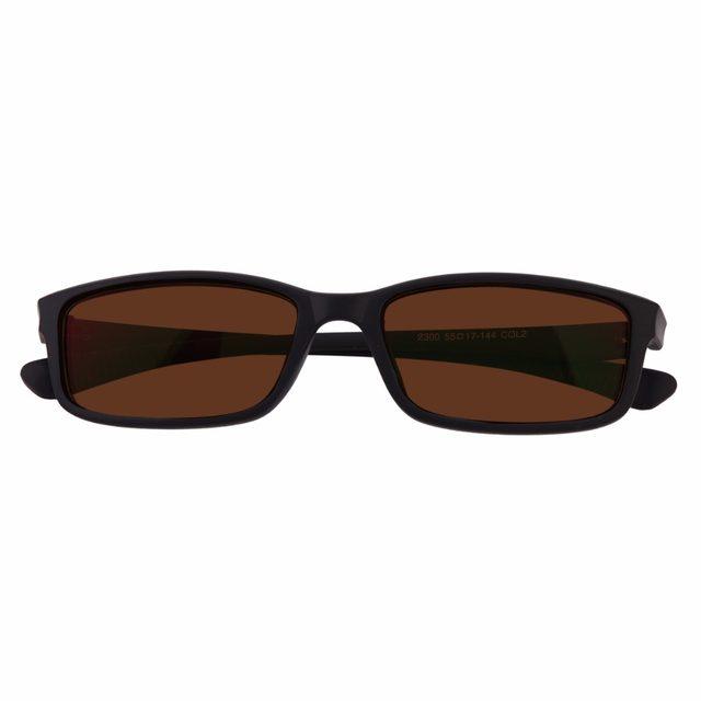 8dd2ba2449 Online Shop 1x Tinted Brown Polarized Prescription Glasses Mens ...