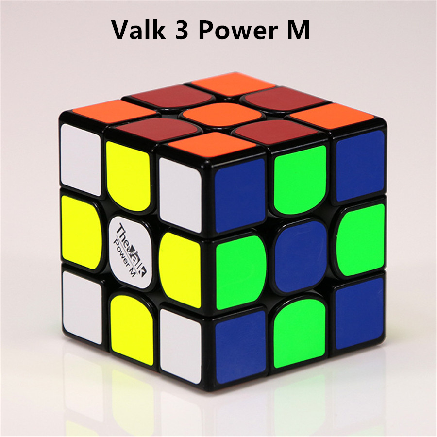 QIYI  Mofangge Valk3/POWER M Magnetic Speed Cubo Magico Valk 3 Mini Professional Competition  Educational Toy For Children Adult neo professional magic cube puzzle games toy cubo magico fidget stress new year timer educational toys bricks puzzles 90a1010
