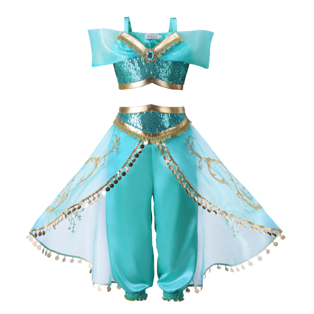 Girls Clothing Set Jasmine Costume