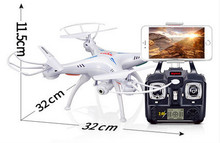 New arrive SYMA X5HW WIFI Drone Quadcopter With Camera Headless Real Time FPV RC Helicopter