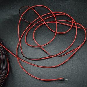 Image 4 - 10 m 20 메터/몫 2 핀 20awg 2 채널 5730 5050 3528 led 스트립 라이트 와이어 연장 케이블 코드 커넥터 de