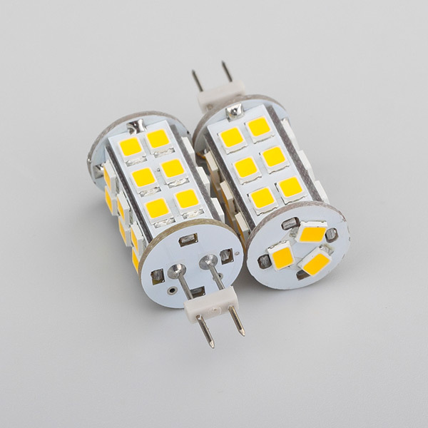 Led G6.35 Bulb Super Bright  High Power 27led 2835SMD As Light Source Up To 350LM DC12V AC12V Dimmable Bulb 1pcs/lot